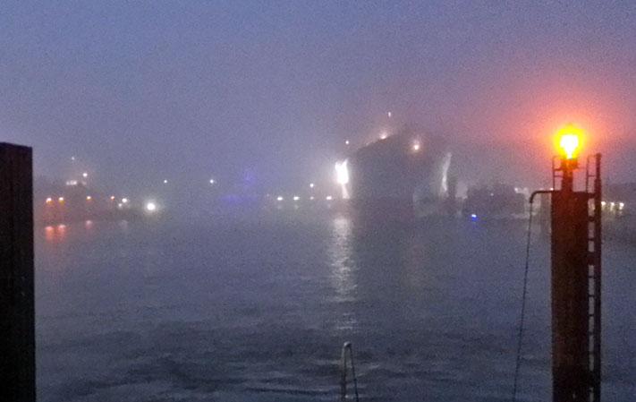 Elbph. im Nebel